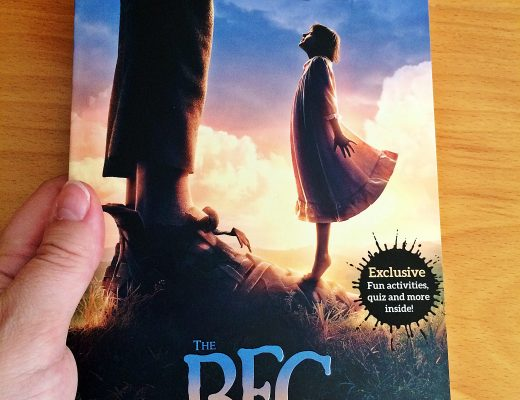 2016 The BFG Book Cover