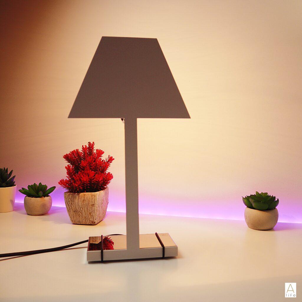 Christmas Gift List Decor Lamp