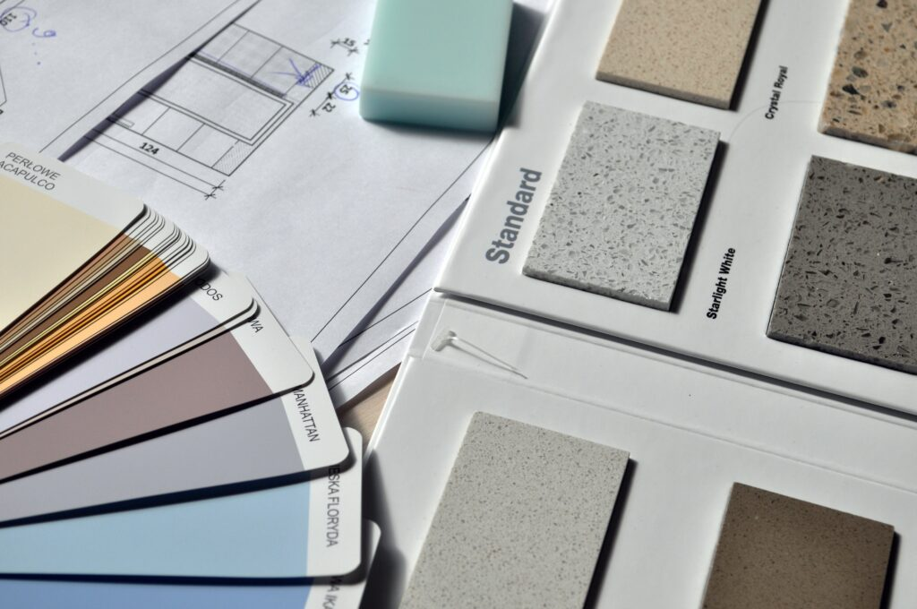 Paint catalog.