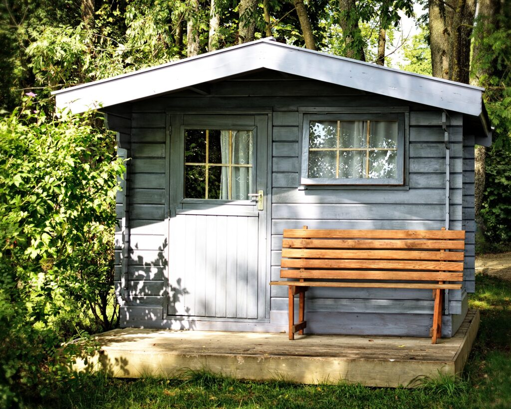garden shed house