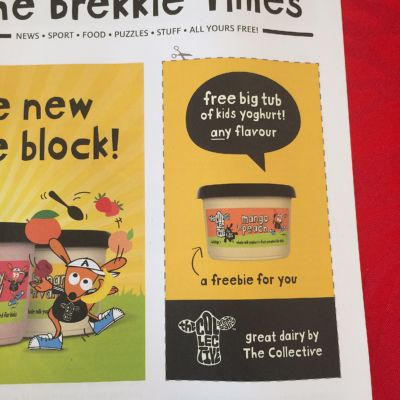 Collective Dairy Voucher for the new Kids range.
