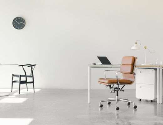 Example of an office design trend.